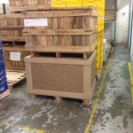 Crate Dimension 750mm x 1050mm x 610mm - Static Load 3 tons