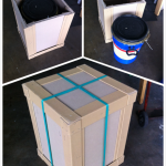 User Friendly crate packaging For Courier service